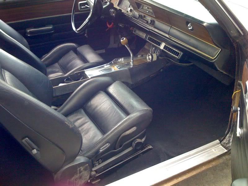 Interieur verven - AmerikaanseAutoPagina.com